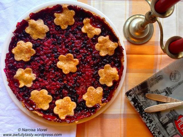 tarta fructe padure