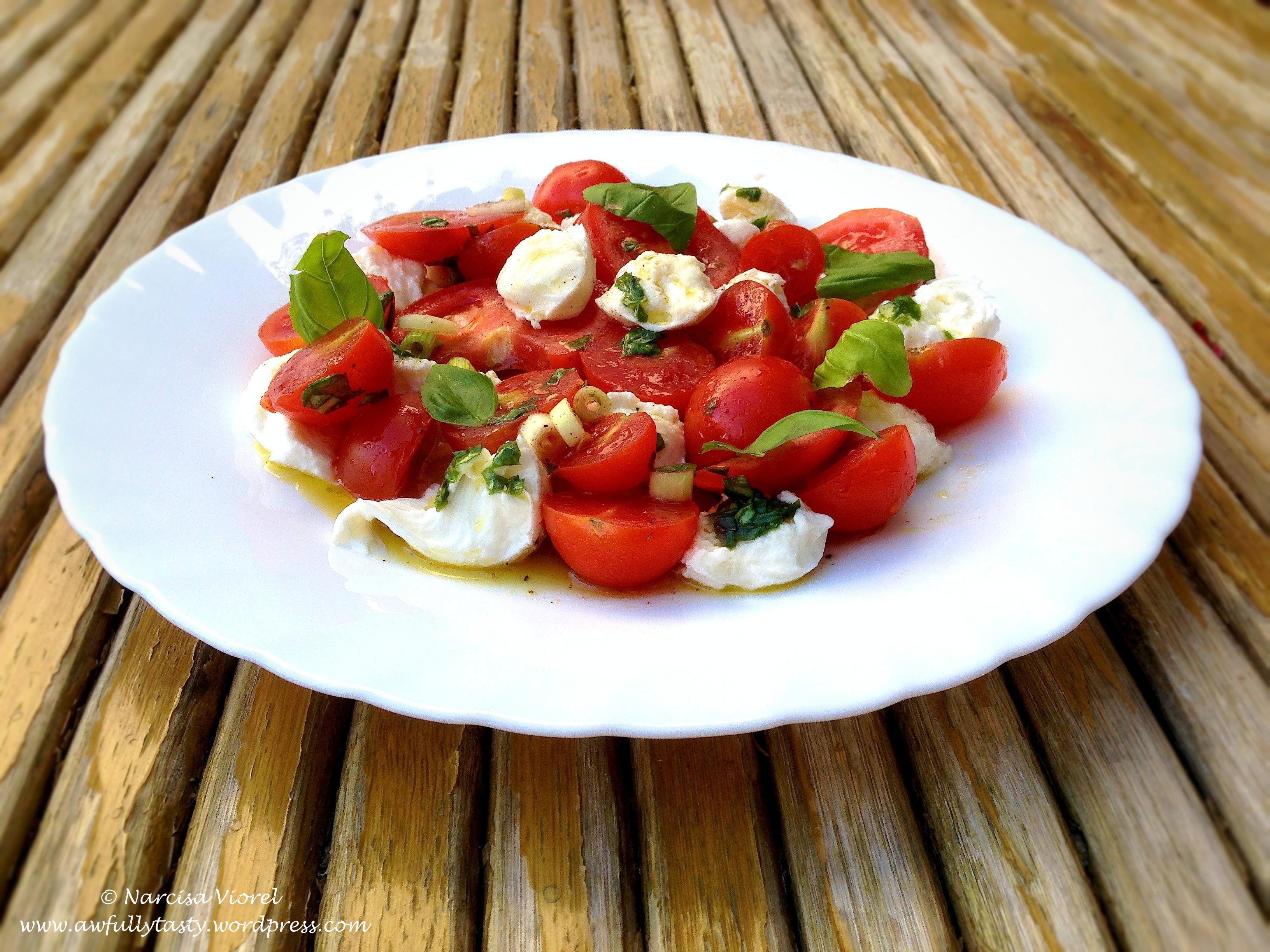 Salata cu piept de pui jamie oliver