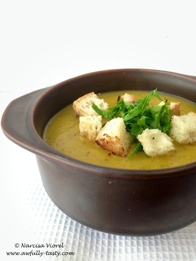 supa crema de fasole galbena 2