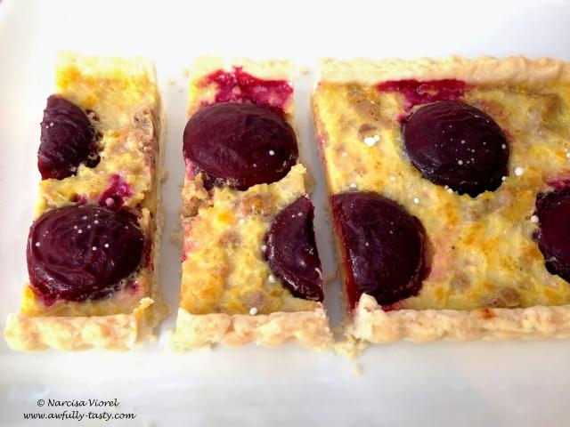 tarta cu limoncello si prune5