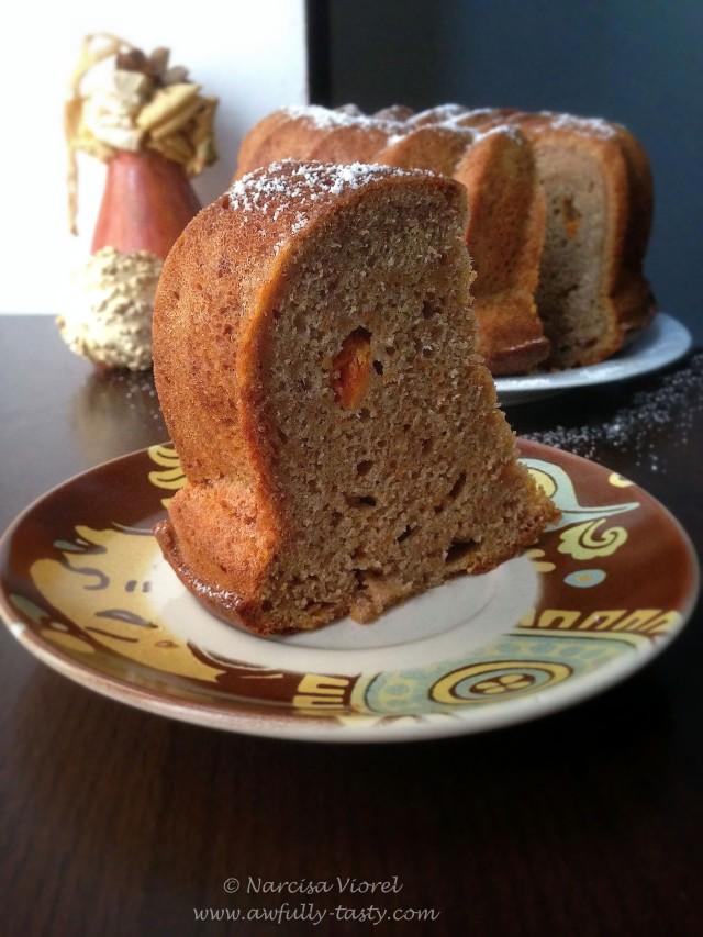 bundt cake cu dovleac
