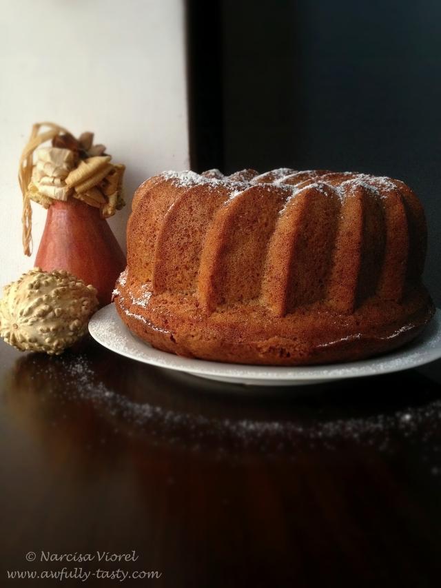 bundt cake cu dovleac3