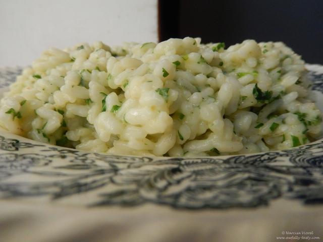 orez cu patrunjel si pecorino