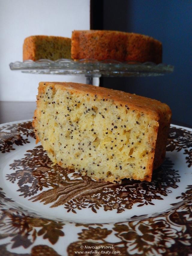 bundt cake cu lamaie