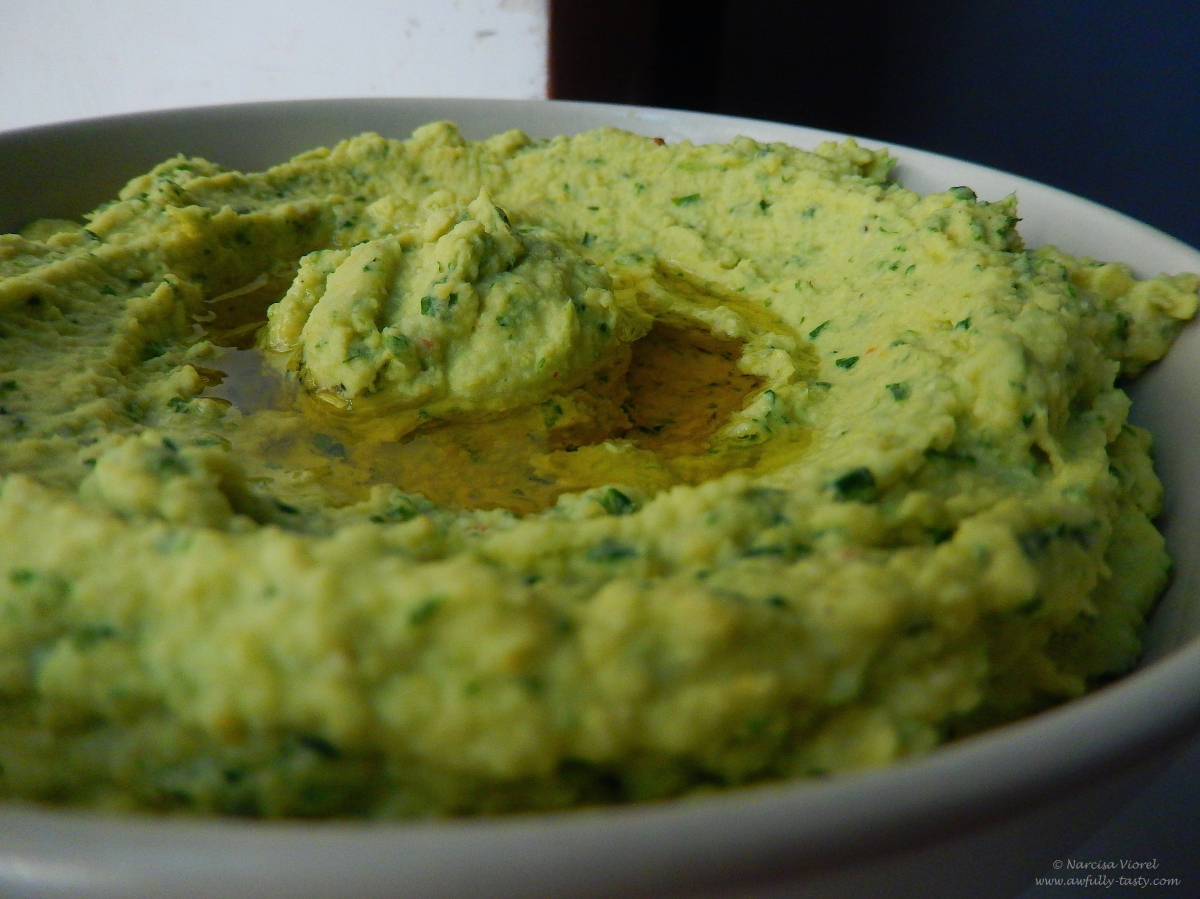 Hummus cu leurdă