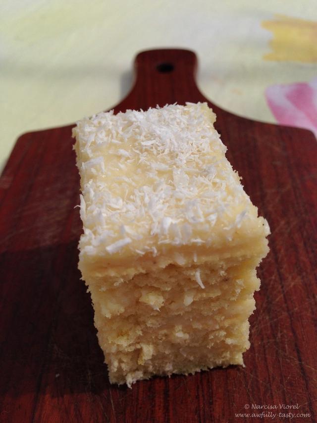 prajitura cu cocos