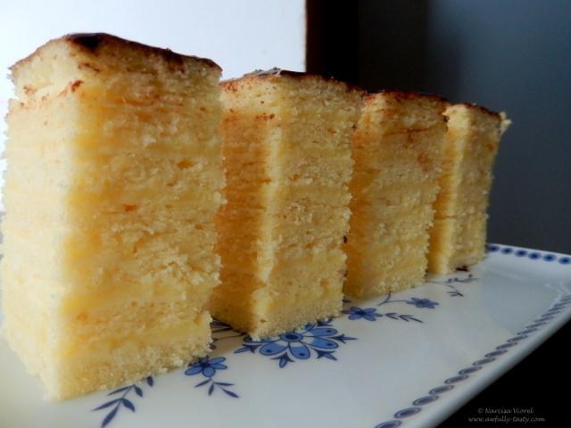 prajitura cu foi si vanilie