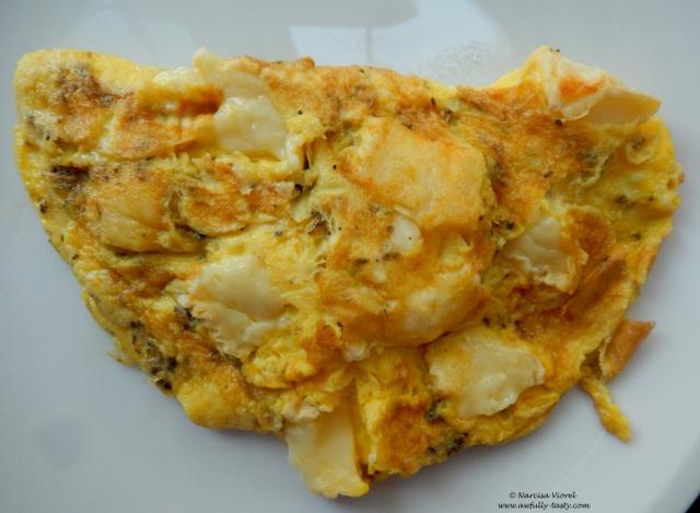 omleta cu Camembert