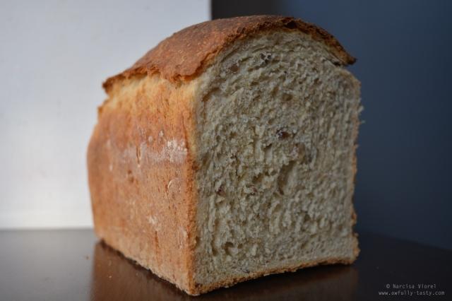 pâine toast cu semințe