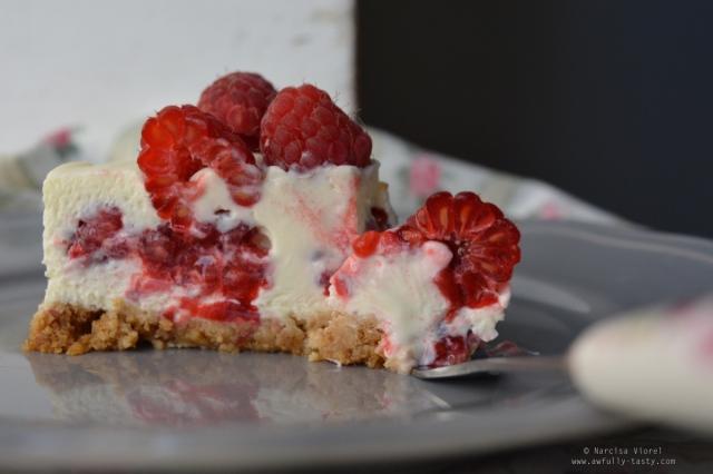 cheesecake zmeură
