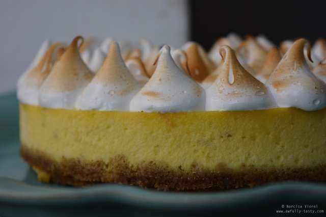 cheesecake lime meringue